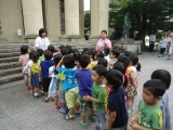 年中さん大原美術館に行ってきました。